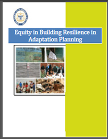 Equity in Resilience Building Climate Adaptation Indicators