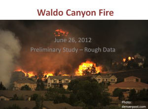 8B-P1 Waldo Canyon Fire
