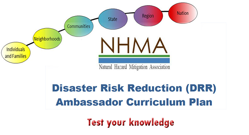 DRR Quiz background image with the NHMA logo